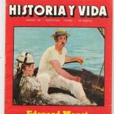 Coleccionismo de Revista Historia y Vida: HISTORIA Y VIDA. Nº 184. EDOUARD MANET. JULIO 1983. (T/20). Lote 256012870