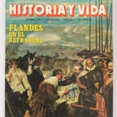 Coleccionismo de Revista Historia y Vida: HISTORIA Y VIDA. Nº 194. FLANDES EN EL REFRANERO. MAYO 1984. (T/20). Lote 256014760
