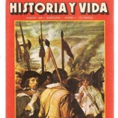 Coleccionismo de Revista Historia y Vida: HISTORIA Y VIDA. Nº 200. NOVIEMBRE, 1984. (T/20). Lote 256139510