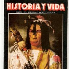 Coleccionismo de Revista Historia y Vida: HISTORIA Y VIDA. Nº 207. LOS INDIOS NAVAJOS. JUNIO, 1985. (T/20). Lote 256158440