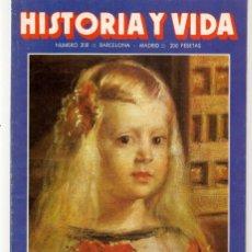 Coleccionismo de Revista Historia y Vida: HISTORIA Y VIDA. Nº 208. MARGARITA DE AUSTRIA. JULIO, 1985. (T/20). Lote 256158560