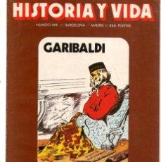 Coleccionismo de Revista Historia y Vida: HISTORIA Y VIDA. Nº 215. CAPITALISMO Y PROTESTA. FEBRERO, 1986. (T/20). Lote 256159970