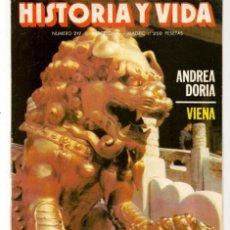 Coleccionismo de Revista Historia y Vida: HISTORIA Y VIDA. Nº 217. ANIMALES IMAGINARIOS. ABRIL, 1986. (T/20). Lote 256160350