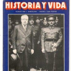 Coleccionismo de Revista Historia y Vida: HISTORIA Y VIDA. Nº 220. AZAÑA Y FRANCO. JULIO, 1986. (T/20). Lote 256160850