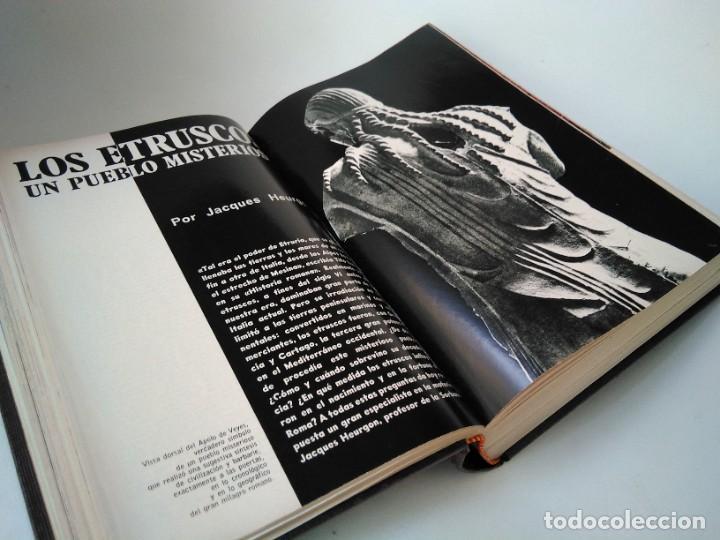 Coleccionismo de Revista Historia y Vida: Historia y vida. Números 34 a 45 (año completo 1971) - Foto 2 - 257990070