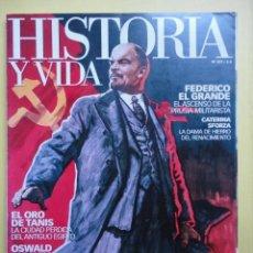Collectionnisme de Magazine Historia y Vida: HISTORIA Y VIDA 477. REVOLUCION RUSA, OCTUBRE ROJO. FEDERICO EL GRANDE. VERDI.. Lote 259331000