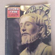 Coleccionismo de Revista Historia y Vida: GALICIA. REVISTA HISTORIA Y VIDA EXTRA 54. PUBLICACIÓN TRIMESTRAL 1989. Lote 262581680