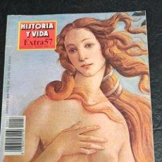 Coleccionismo de Revista Historia y Vida: HISTORIA Y VIDA EXTRA N° 57. 1990. FLORENCIA.. Lote 265737479