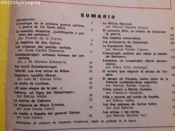 Coleccionismo de Revista Historia y Vida: REVISTA HISTORIA Y VIDA. EXTRA Nº 6. UNA GUERRA SALVAJE Y ROMANTICA, CARLISTAS CONTRA ISABELINO.1968 - Foto 2 - 267328629