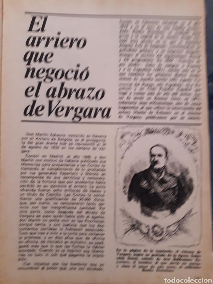 Coleccionismo de Revista Historia y Vida: REVISTA HISTORIA Y VIDA. EXTRA Nº 6. UNA GUERRA SALVAJE Y ROMANTICA, CARLISTAS CONTRA ISABELINO.1968 - Foto 3 - 267328629