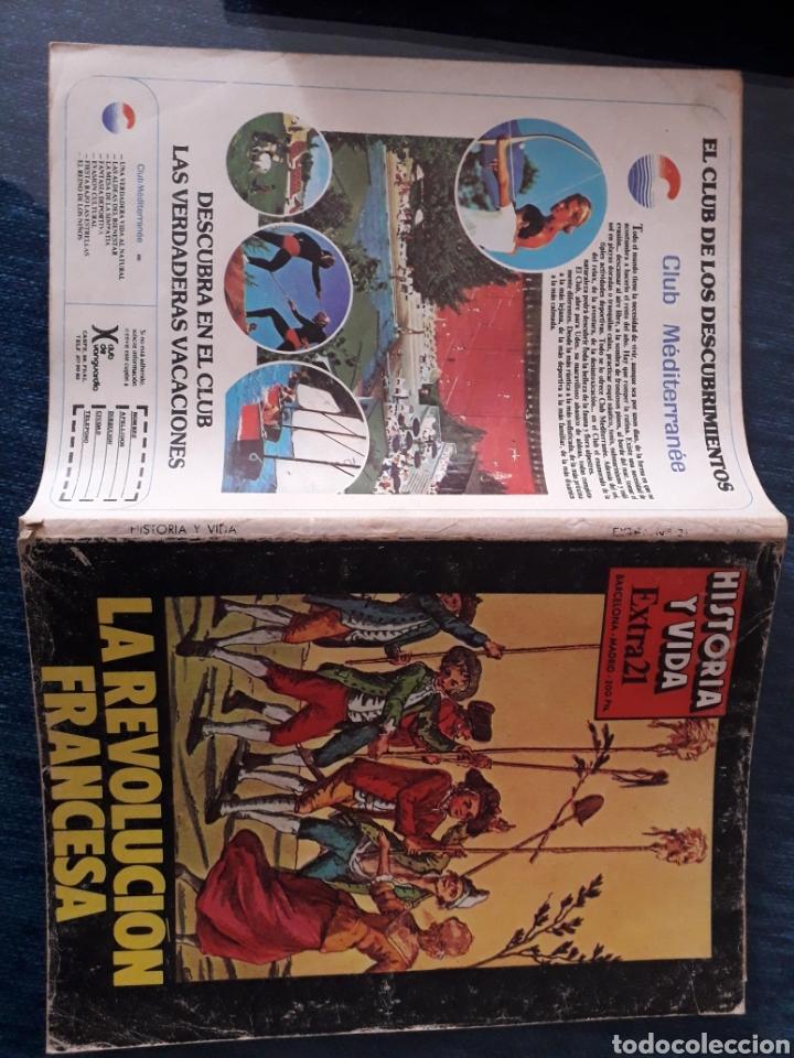 Coleccionismo de Revista Historia y Vida: HISTORIA Y VIDA, EXTRA 21 - LA REVOLUCION FRANCESA, MARAT, DANTON, ROBESPIERRE, LA BASTILLA... - Foto 4 - 267329689