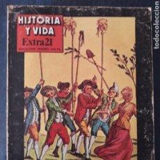 Coleccionismo de Revista Historia y Vida: HISTORIA Y VIDA, EXTRA 21 - LA REVOLUCION FRANCESA, MARAT, DANTON, ROBESPIERRE, LA BASTILLA.... Lote 267329689