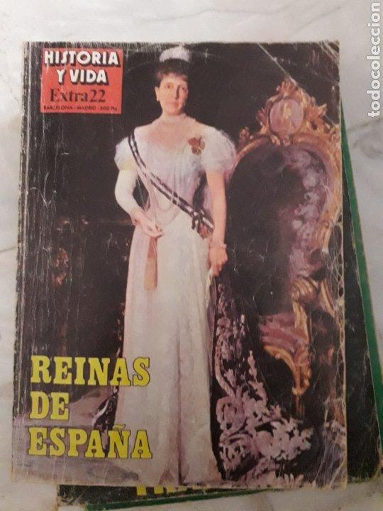 HISTORIA Y VIDA EXTRA Nº 22 REINAS DE SPAIN 178 PAGS (Coleccionismo - Revistas y Periódicos Modernos (a partir de 1.940) - Revista Historia y Vida)
