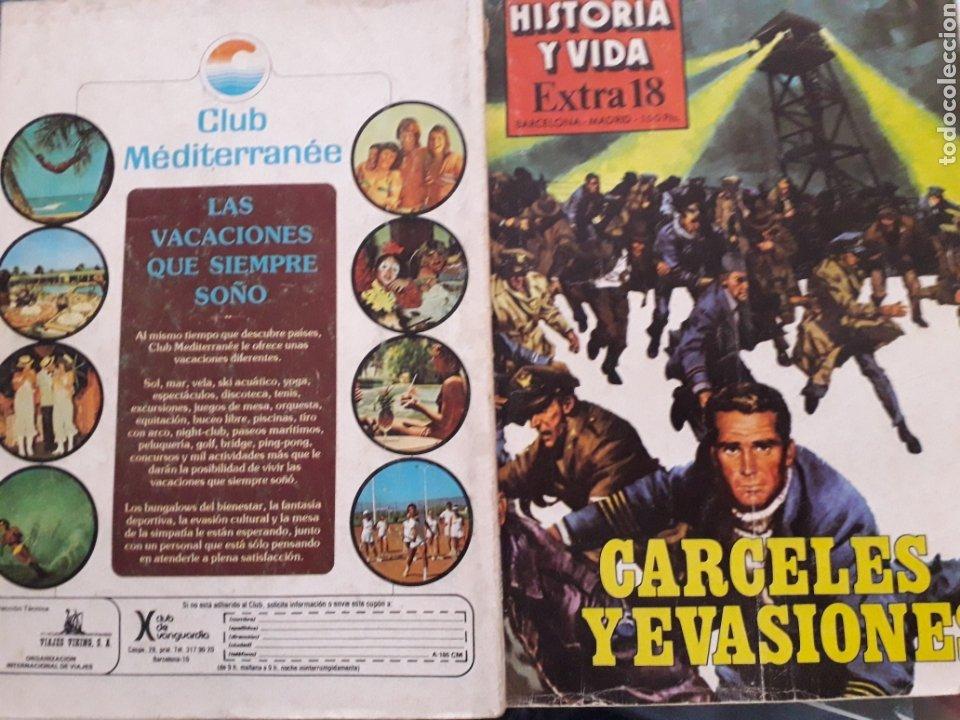 Coleccionismo de Revista Historia y Vida: HISTORIA Y VIDA EXTRA Nº 18 - Carceles y evasiones - 1980, 178 PÁGINAS. VER SUMARIO - Foto 3 - 267332149