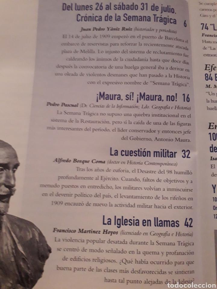 Coleccionismo de Revista Historia y Vida: HISTORIA Y VIDA , Nº 376: SEMANA TRAGICA , 30 AÑOS LLEGADA HOMBRE A LA LUNA, LOS LAPONES, ETC - Foto 2 - 267346014