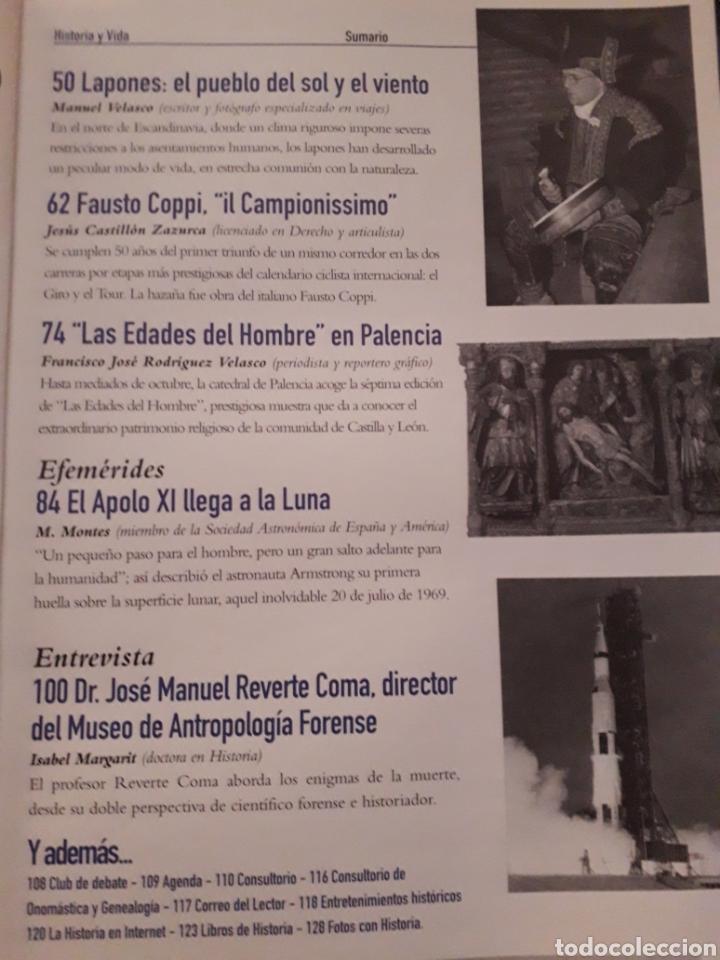 Coleccionismo de Revista Historia y Vida: HISTORIA Y VIDA , Nº 376: SEMANA TRAGICA , 30 AÑOS LLEGADA HOMBRE A LA LUNA, LOS LAPONES, ETC - Foto 3 - 267346014