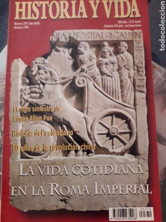 HISTORIA Y VIDA NUMERO 379. MUY BUEN ESTADO (Coleccionismo - Revistas y Periódicos Modernos (a partir de 1.940) - Revista Historia y Vida)
