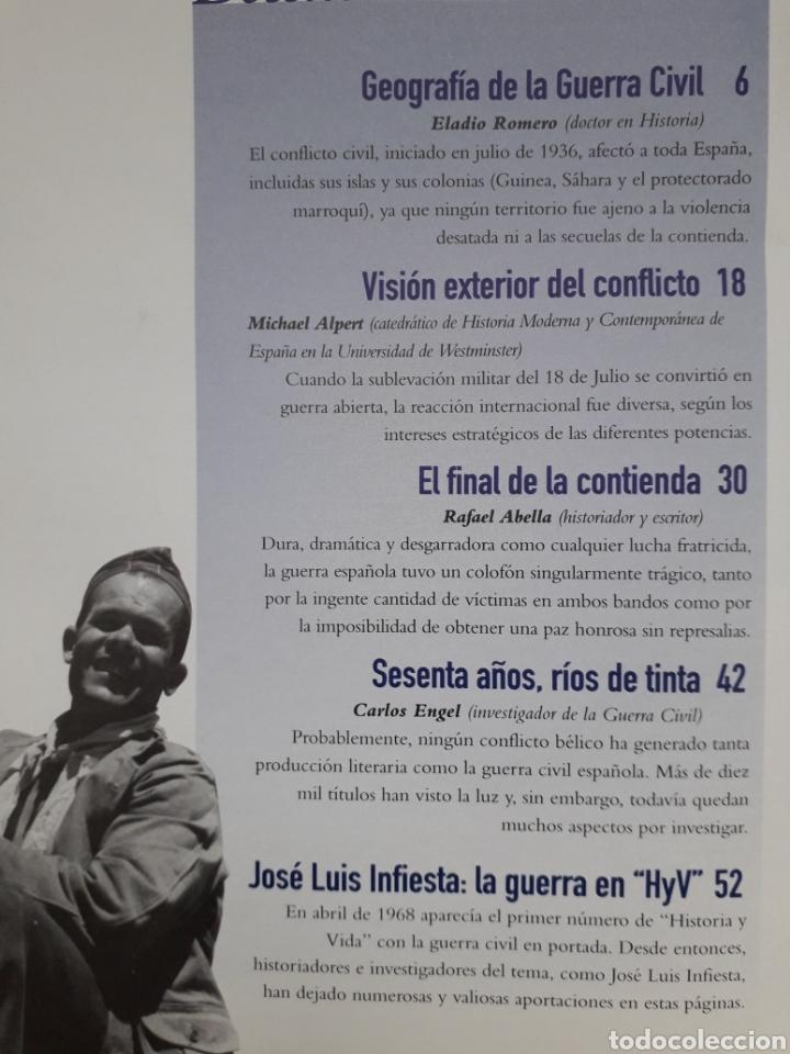 Coleccionismo de Revista Historia y Vida: HISTORIA Y VIDA. Nº 373 - ABRIL 1999. 60 AÑOS DESPUES LA GUERRA CIVIL A DEBATE. MUY BUEN ESTADO - Foto 2 - 267366119