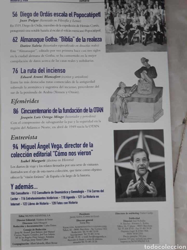 Coleccionismo de Revista Historia y Vida: HISTORIA Y VIDA. Nº 373 - ABRIL 1999. 60 AÑOS DESPUES LA GUERRA CIVIL A DEBATE. MUY BUEN ESTADO - Foto 3 - 267366119