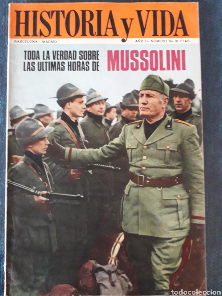 HISTORIA Y VIDA. NUMERO 14. MAYO 1969 (Coleccionismo - Revistas y Periódicos Modernos (a partir de 1.940) - Revista Historia y Vida)