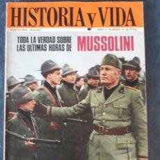 Coleccionismo de Revista Historia y Vida: HISTORIA Y VIDA. NUMERO 14. MAYO 1969. Lote 267441554