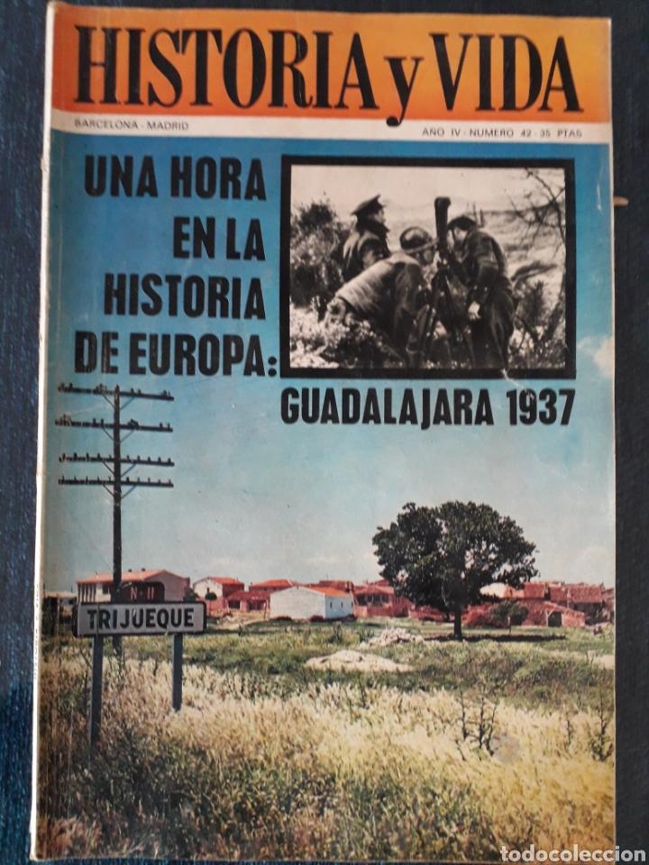 HISTORIA Y VIDA. NUMERO 42. SEPTIEMBRE 1971 (Coleccionismo - Revistas y Periódicos Modernos (a partir de 1.940) - Revista Historia y Vida)