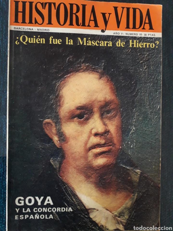 HISTORIA Y VIDA. NUMERO 18. SEPTIEMBRE 1969 (Coleccionismo - Revistas y Periódicos Modernos (a partir de 1.940) - Revista Historia y Vida)