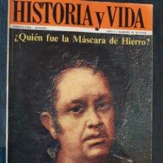 Coleccionismo de Revista Historia y Vida: HISTORIA Y VIDA. NUMERO 18. SEPTIEMBRE 1969. Lote 267441884