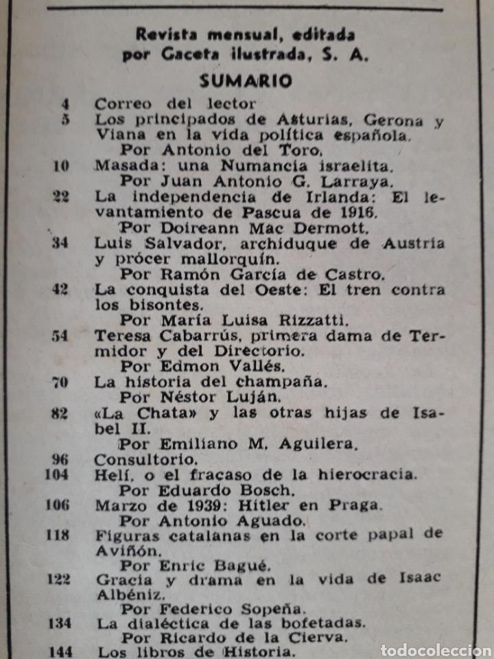 Coleccionismo de Revista Historia y Vida: HISTORIA Y VIDA. NUMERO 12. MARZO 1969 - Foto 2 - 267442084
