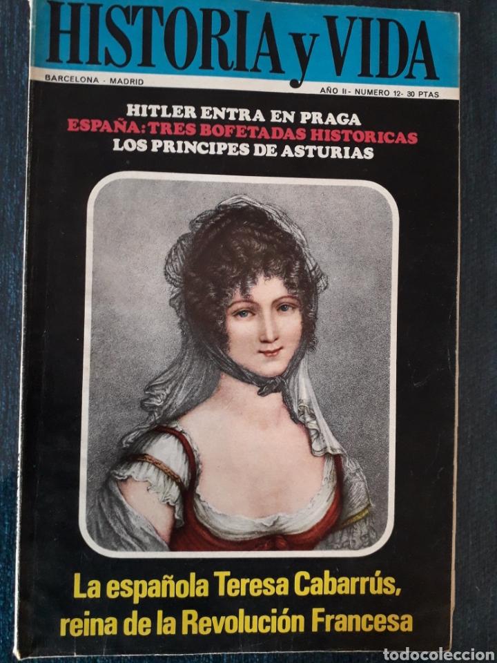 HISTORIA Y VIDA. NUMERO 12. MARZO 1969 (Coleccionismo - Revistas y Periódicos Modernos (a partir de 1.940) - Revista Historia y Vida)