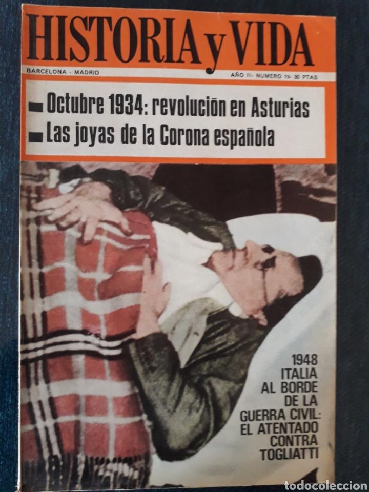 HISTORIA Y VIDA. NUMERO 19. OCTUBRE 1969 (Coleccionismo - Revistas y Periódicos Modernos (a partir de 1.940) - Revista Historia y Vida)