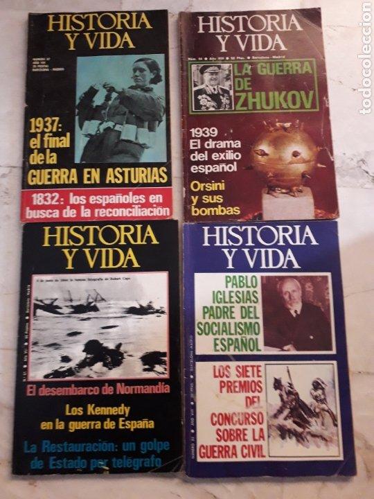 Coleccionismo de Revista Historia y Vida: LOTE 10 REVISTAS HISTORIA Y VIDA. NUMEROS 77,91,78,85,75,96,81,83,84,87. VER FOTOS - Foto 4 - 267571439