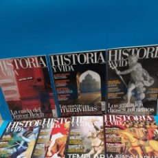 Coleccionismo de Revista Historia y Vida: SIETE REVISTAS..HISTORIA Y VIDA...2009..10..11..12.... Lote 267640249