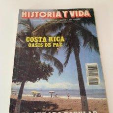 Coleccionismo de Revista Historia y Vida: HISTORIA Y VIDA - NUMERO 280 - AÑO 1991 COSTA RICA OASIS DE PAZ. Lote 267794369