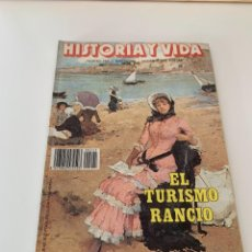 Coleccionismo de Revista Historia y Vida: HISTORIA Y VIDA - NUMERO 245 AÑO 1988 EL TURISMO RANCIO. Lote 267795029