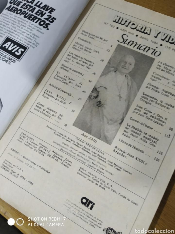 Coleccionismo de Revista Historia y Vida: Historia y Vida núm 193 - Foto 2 - 267816349