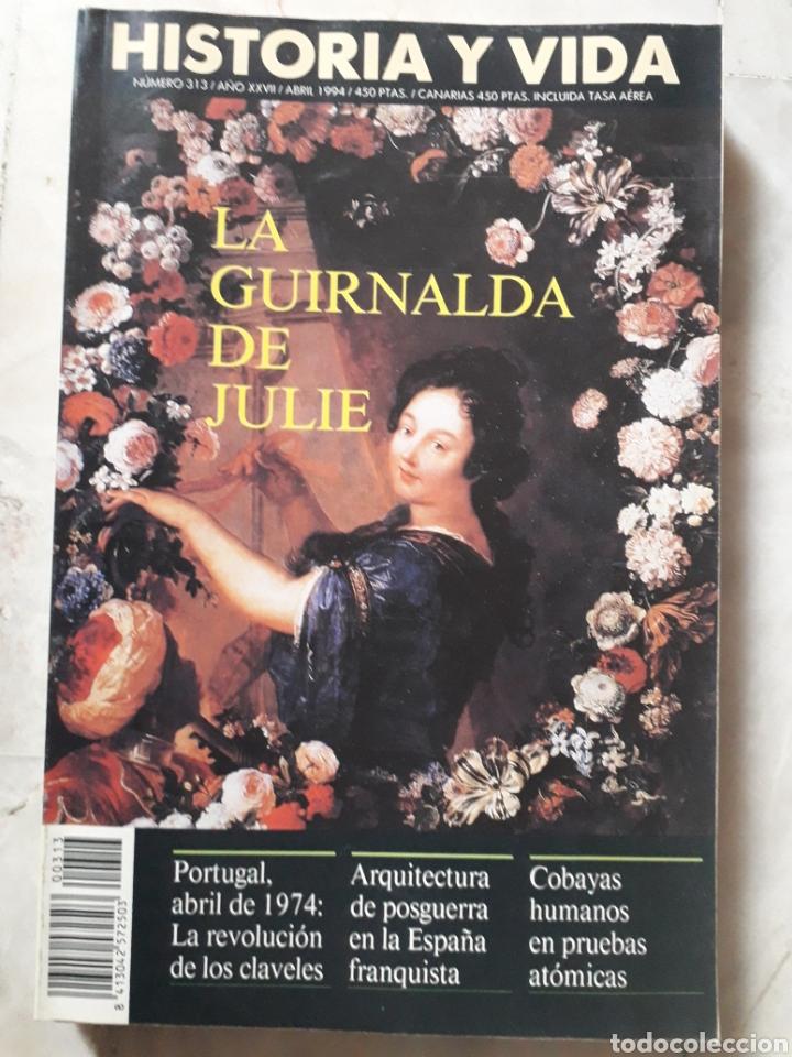 Coleccionismo de Revista Historia y Vida: LOTE DE 6 REVISTAS DE HISTORIA Y VIDA EN MUY BUEN ESTADO. VER FOTOS. ANTERIORES AL AÑO 2000 - Foto 3 - 268811809