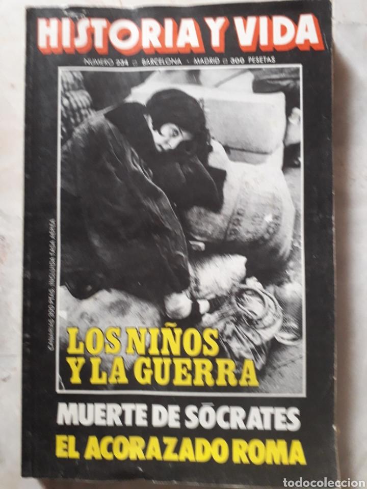Coleccionismo de Revista Historia y Vida: LOTE DE 6 REVISTAS DE HISTORIA Y VIDA EN MUY BUEN ESTADO. VER FOTOS. ANTERIORES AL AÑO 2000 - Foto 4 - 268811809