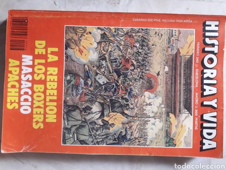 Coleccionismo de Revista Historia y Vida: LOTE DE 6 REVISTAS DE HISTORIA Y VIDA EN MUY BUEN ESTADO. VER FOTOS. ANTERIORES AL AÑO 2000 - Foto 5 - 268811809