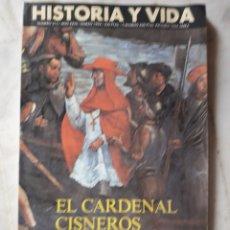 Coleccionismo de Revista Historia y Vida: LOTE DE 6 REVISTAS DE HISTORIA Y VIDA EN MUY BUEN ESTADO. VER FOTOS. ANTERIORES AL AÑO 2000. Lote 268811809