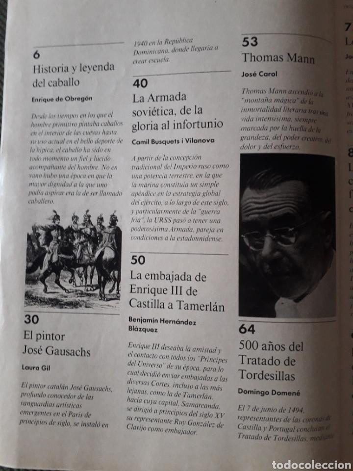Coleccionismo de Revista Historia y Vida: Historia y Vida revista numero 315: El Caballo fiel aliado del hombre. MUY BUEN ESTADO. VER FOTOS - Foto 2 - 268813834
