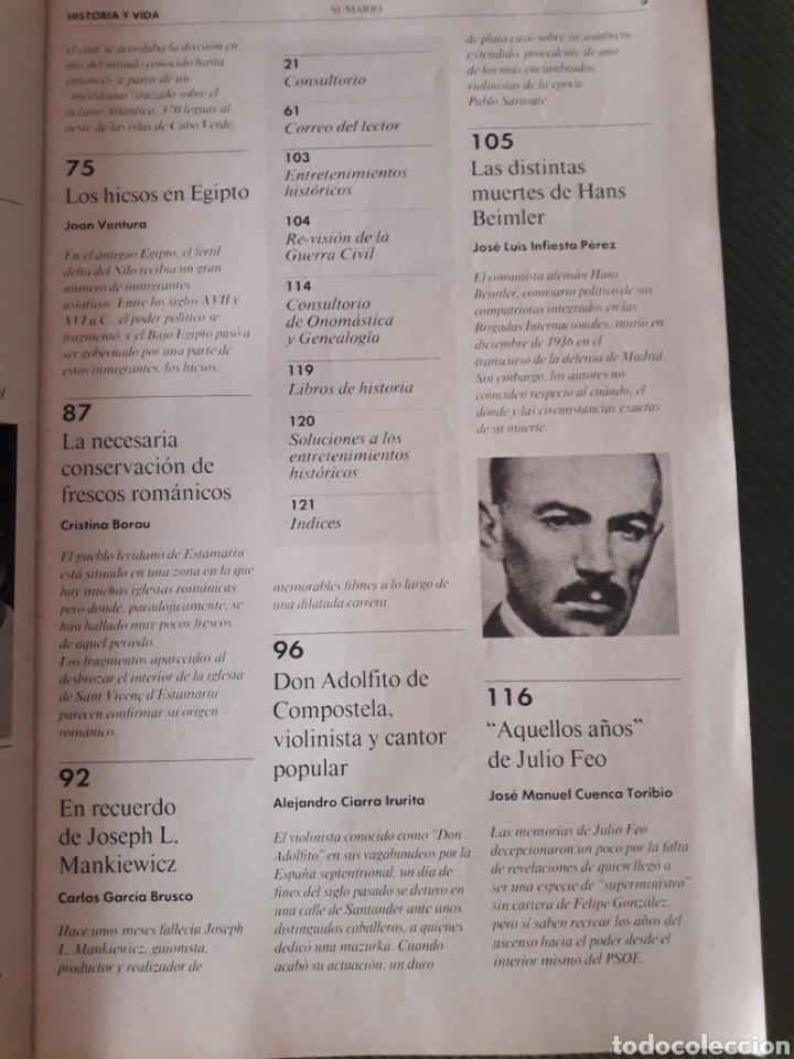 Coleccionismo de Revista Historia y Vida: Historia y Vida revista numero 315: El Caballo fiel aliado del hombre. MUY BUEN ESTADO. VER FOTOS - Foto 3 - 268813834