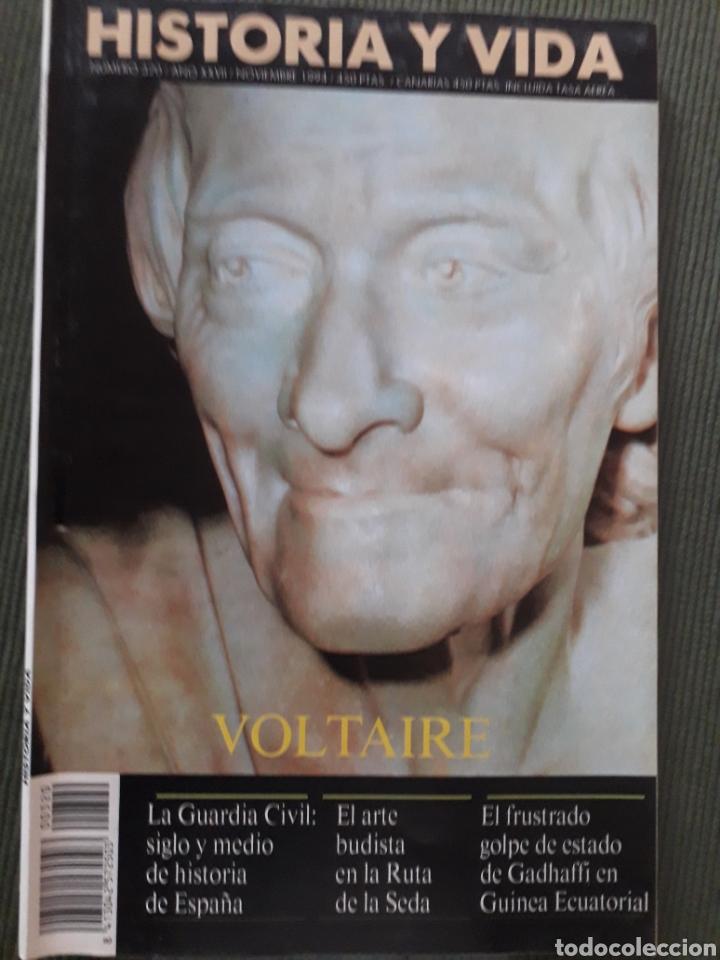 HISTORIA Y VIDA REVISTA NUMERO 320. VOLTAIRE. VER FOTOS DEL SUMARIO. BUEN ESTADO (Coleccionismo - Revistas y Periódicos Modernos (a partir de 1.940) - Revista Historia y Vida)