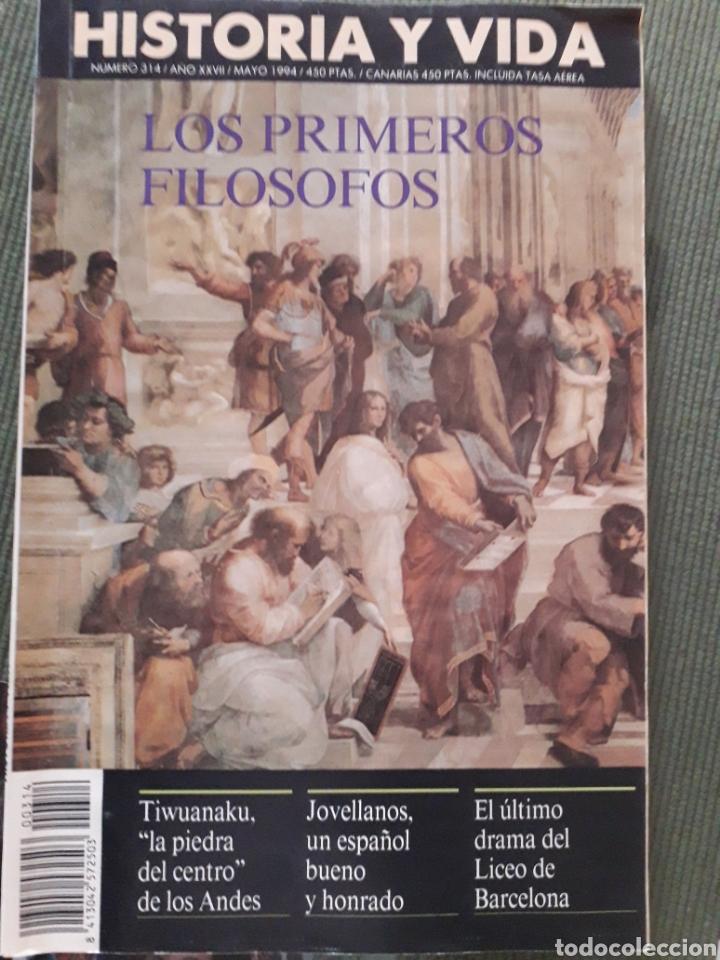 Coleccionismo de Revista Historia y Vida: LOTE DE TRES REVISTAS HISTORIA Y VIDA NUMEROS 314, 319, 317 MUY BUEN ESTADO - Foto 2 - 268816949