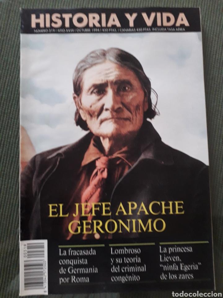 Coleccionismo de Revista Historia y Vida: LOTE DE TRES REVISTAS HISTORIA Y VIDA NUMEROS 314, 319, 317 MUY BUEN ESTADO - Foto 3 - 268816949