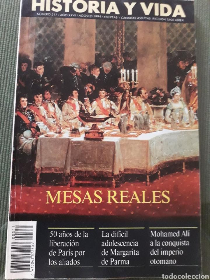 Coleccionismo de Revista Historia y Vida: LOTE DE TRES REVISTAS HISTORIA Y VIDA NUMEROS 314, 319, 317 MUY BUEN ESTADO - Foto 4 - 268816949