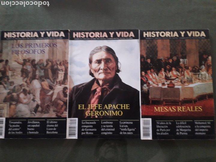 LOTE DE TRES REVISTAS HISTORIA Y VIDA NUMEROS 314, 319, 317 MUY BUEN ESTADO (Coleccionismo - Revistas y Periódicos Modernos (a partir de 1.940) - Revista Historia y Vida)