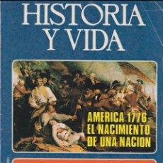 Coleccionismo de Revista Historia y Vida: HISTORIA Y VIDA Nº99 – LARGO CABALLERO Y LA UGT – AMERICA 1776. Lote 269306133