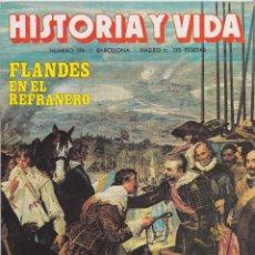 Coleccionismo de Revista Historia y Vida: HISTORIA Y VIDA, Nº 194 – FLANDES EN EL REFRANERO – LAS VIAS ROMANAS – SAMUEL JOHNSON. Lote 269309488