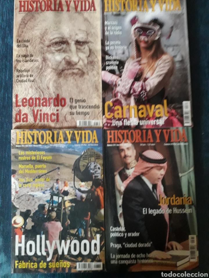 Coleccionismo de Revista Historia y Vida: LOTE 10 REVISTAS HISTORIA Y VIDA. MUY BUEN ESTADO - Foto 2 - 269480758